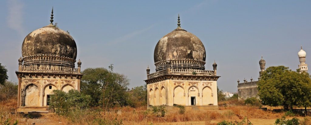 Tombs in Qutub Shahi's Complex