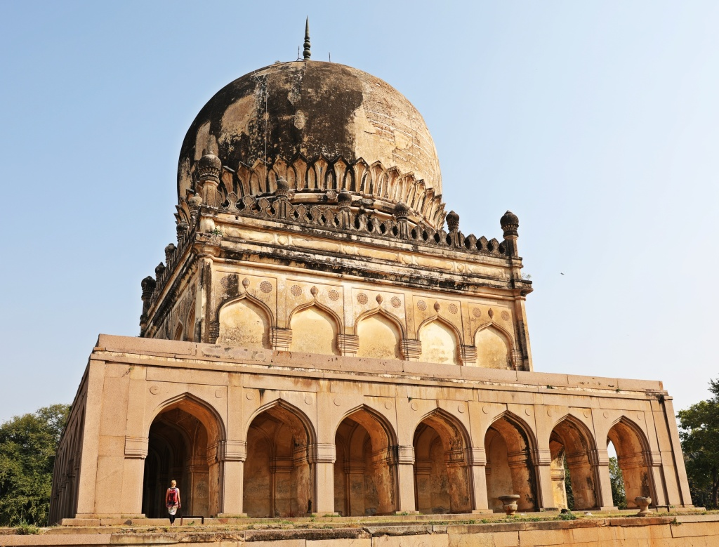 Tomb in Qutub Shahi's Complex