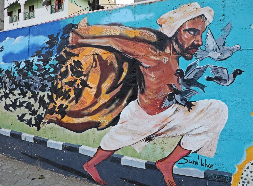 Graffiti project, Hyderabad