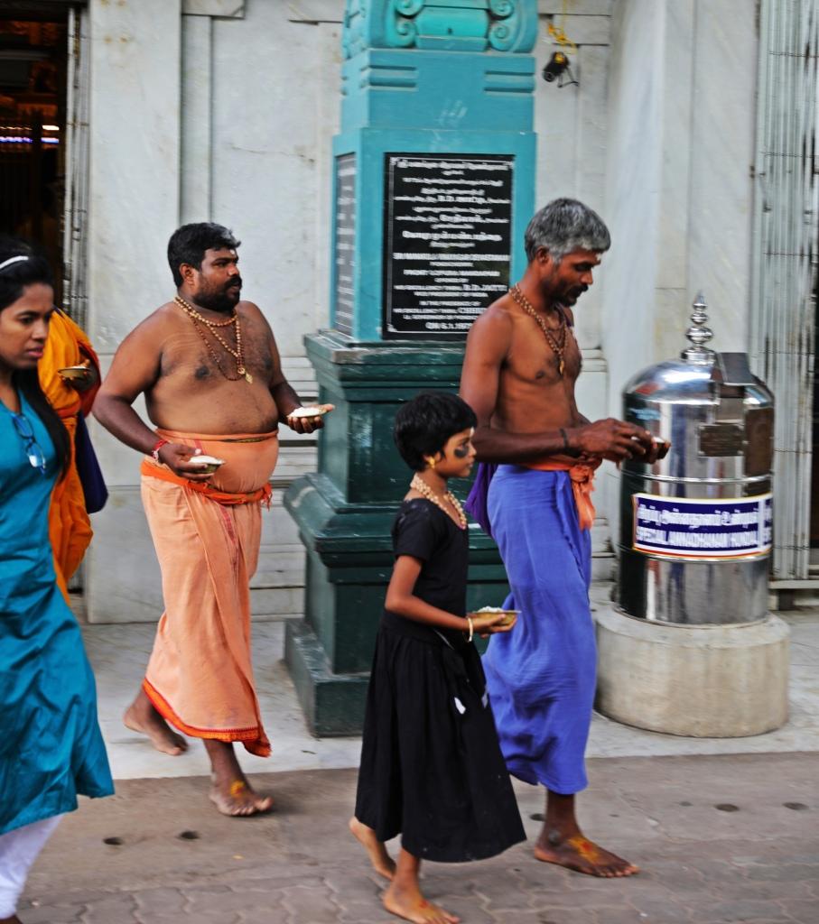 Pundits, Sri Manakula Vinayager Temple, Puducherry