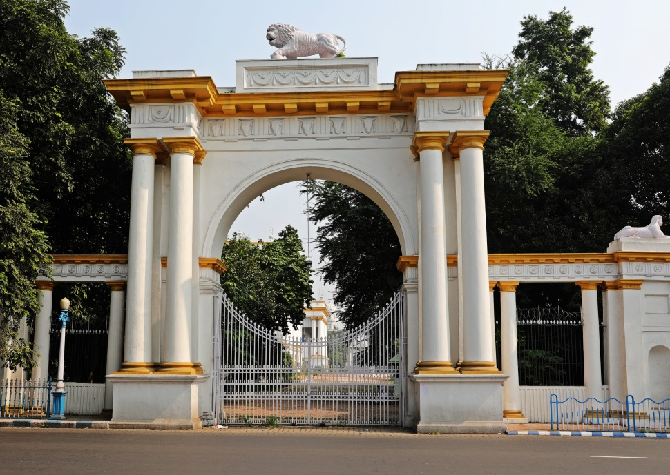 Gate to City Hall, Kolkata