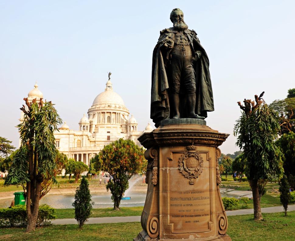 British Lord Statue, Victoria Monument, Kolkata