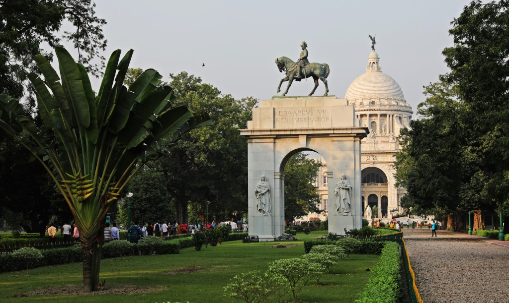 King Edward VII Gate, Victoria Monument, Kolkata