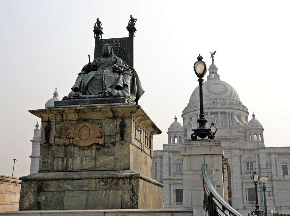Queen Victoria Statue, Victoria Memorial, Kolkata