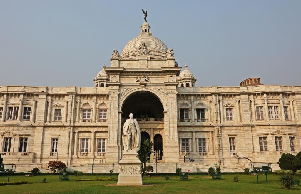 Lord Curzon statue, Victoria Memorial, Kolkata
