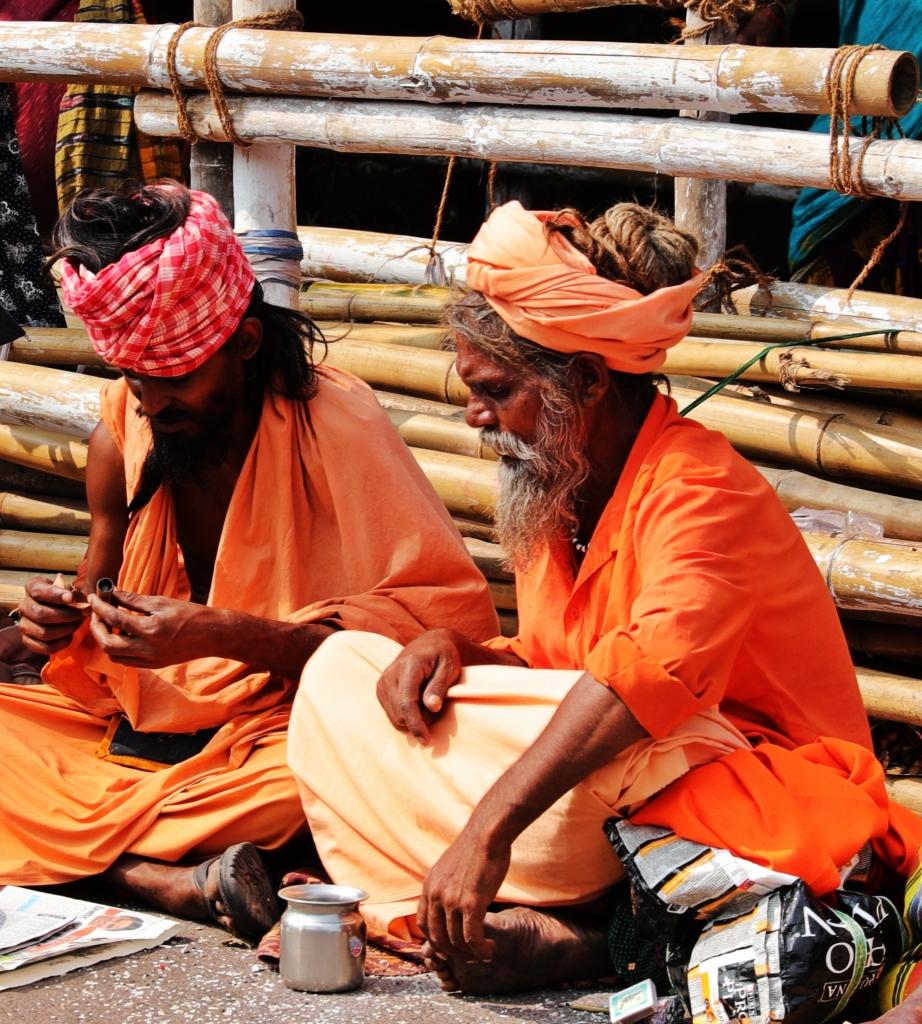 Sadhus, Jagannath Mandir, Puri