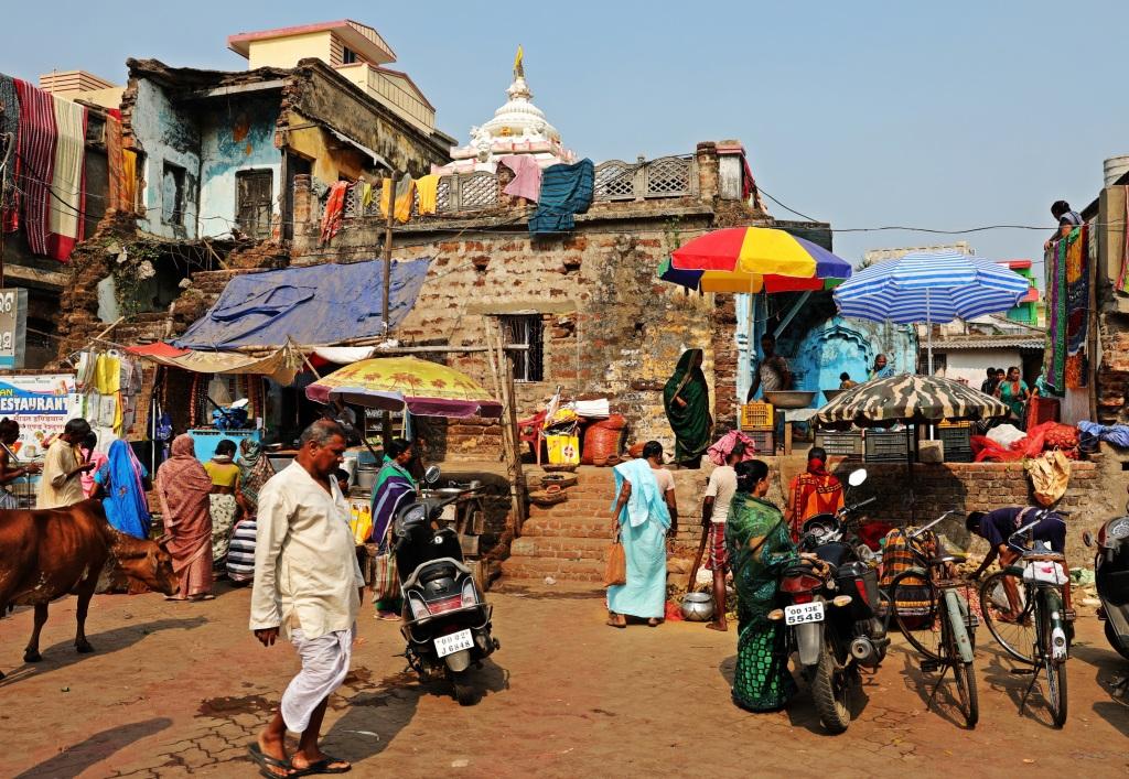 Outside Lingaraj Mandir, Bhubaneswar