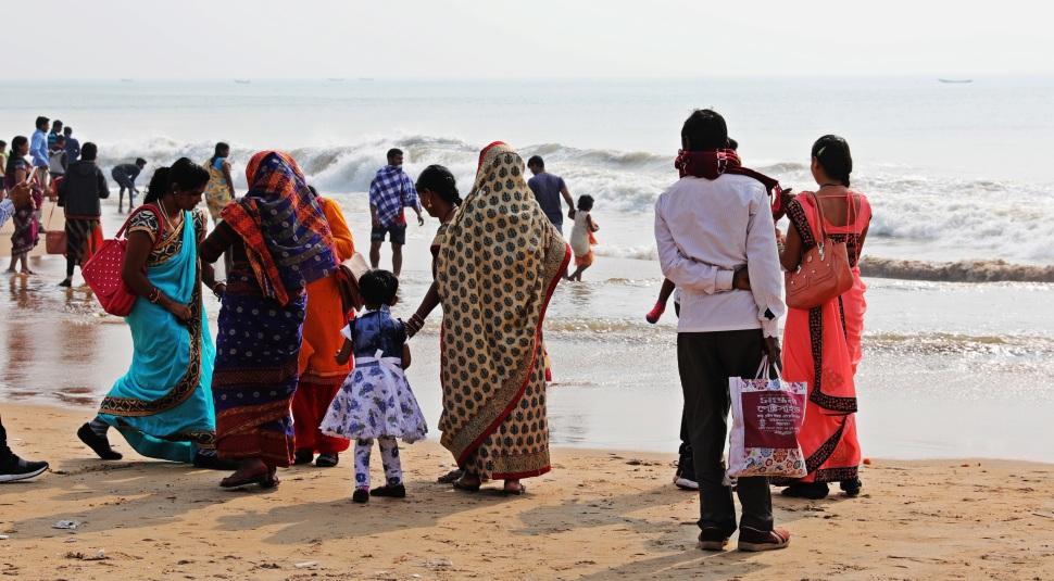 Typical beach goes, Puri