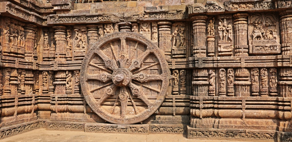 Wheel, Sun Temple, Konark