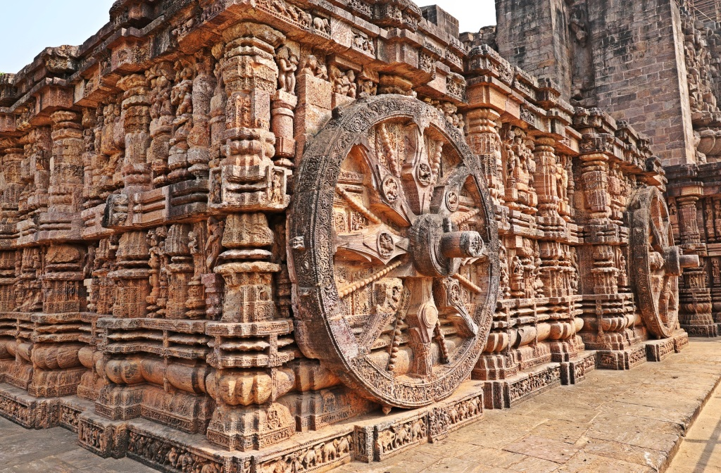 Wheels, Sun Temple, Konark