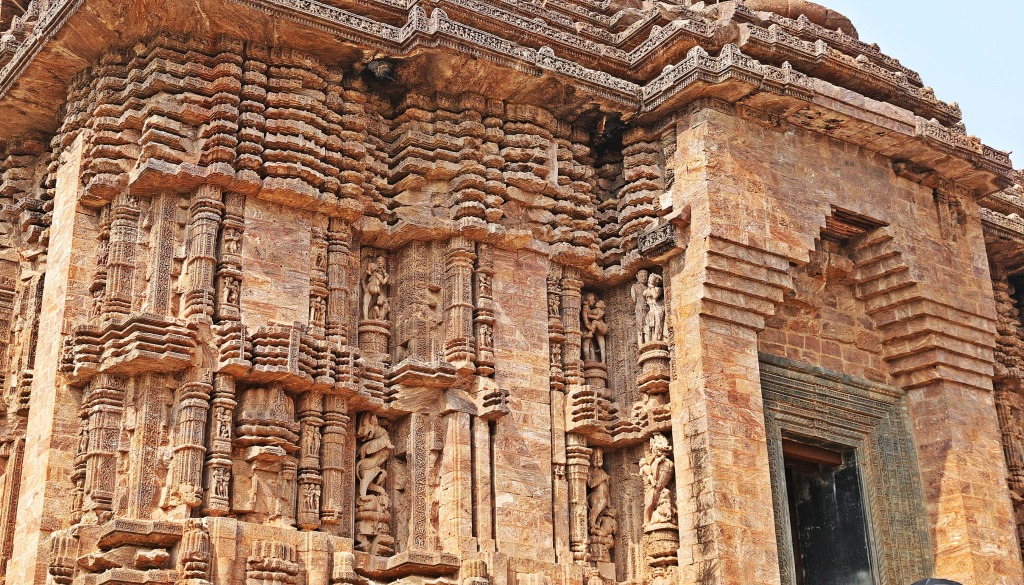 Carvings on Sun Temple, Konark