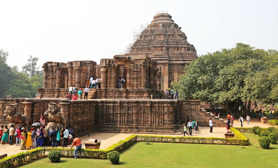 Sun Temple and Dancing Hall, Konark