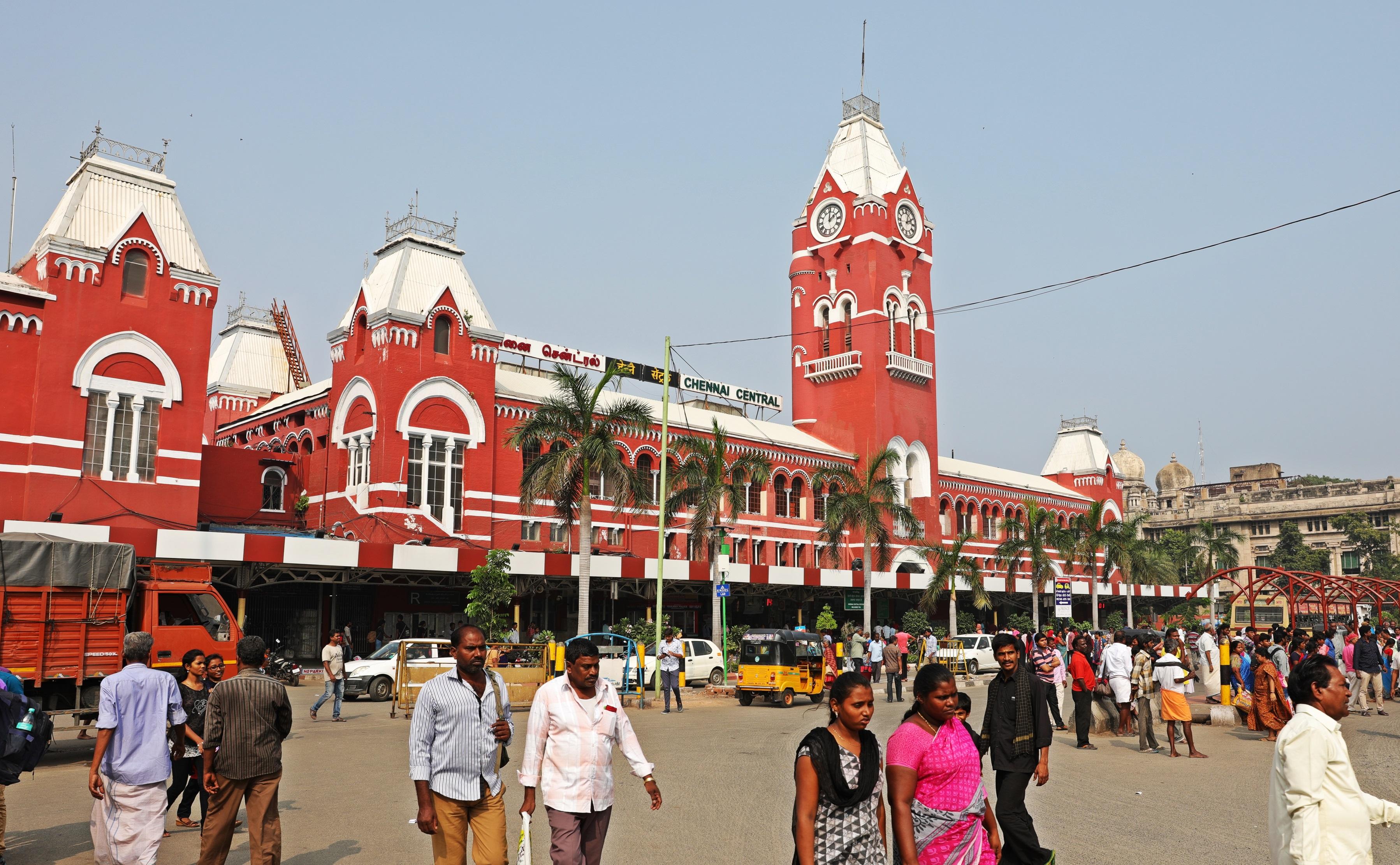 Central Railway Station, Chennai