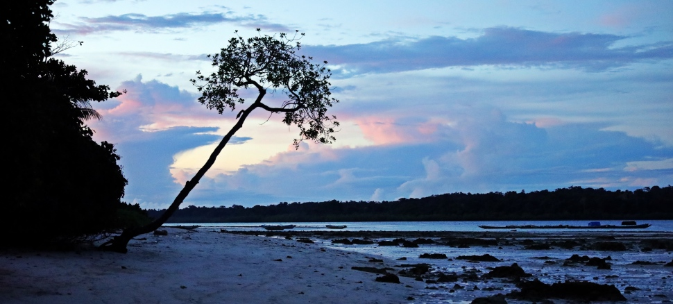 Sunset, Havelock Island
