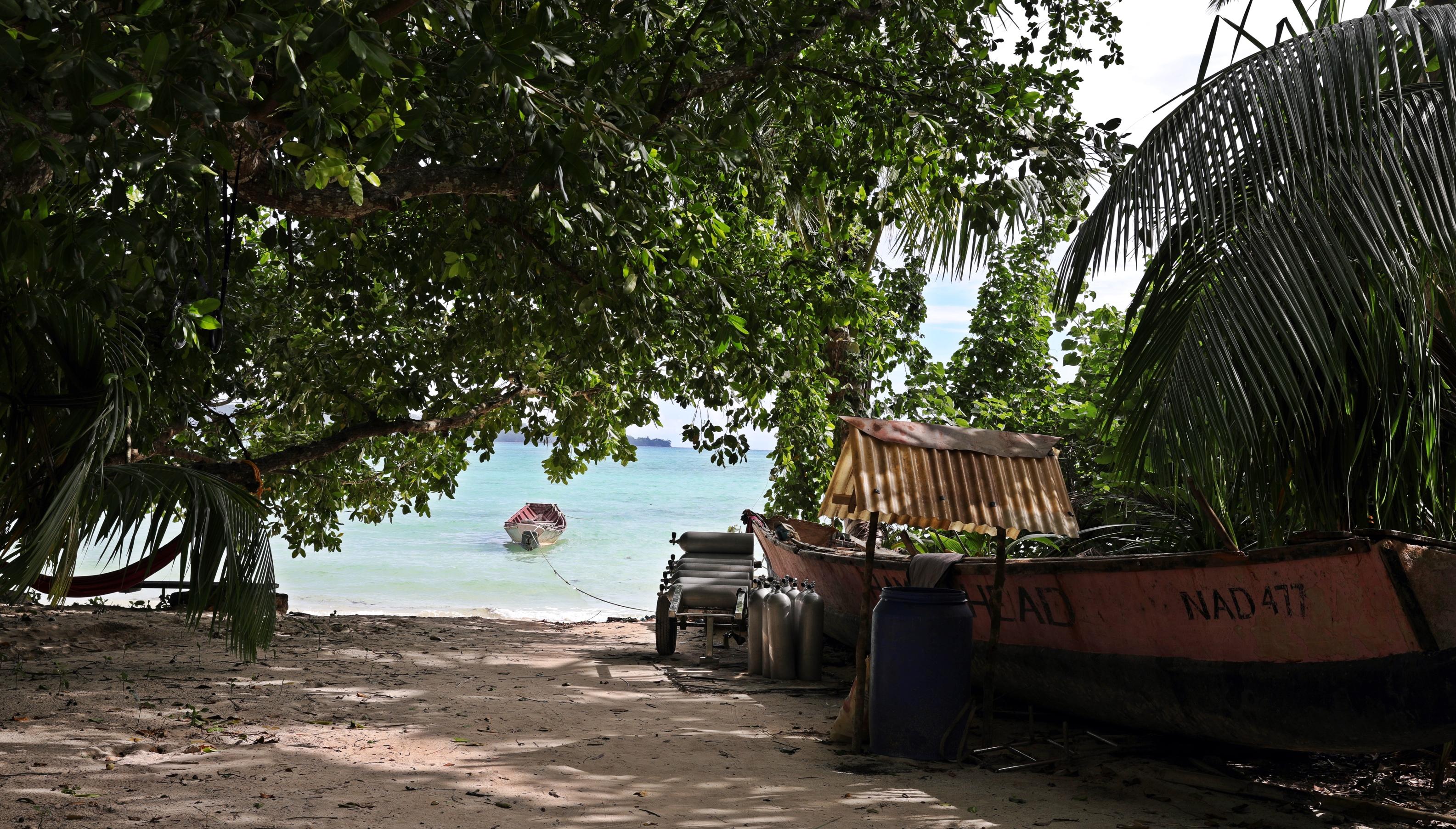 Vinnie's Beach, Havelock Island