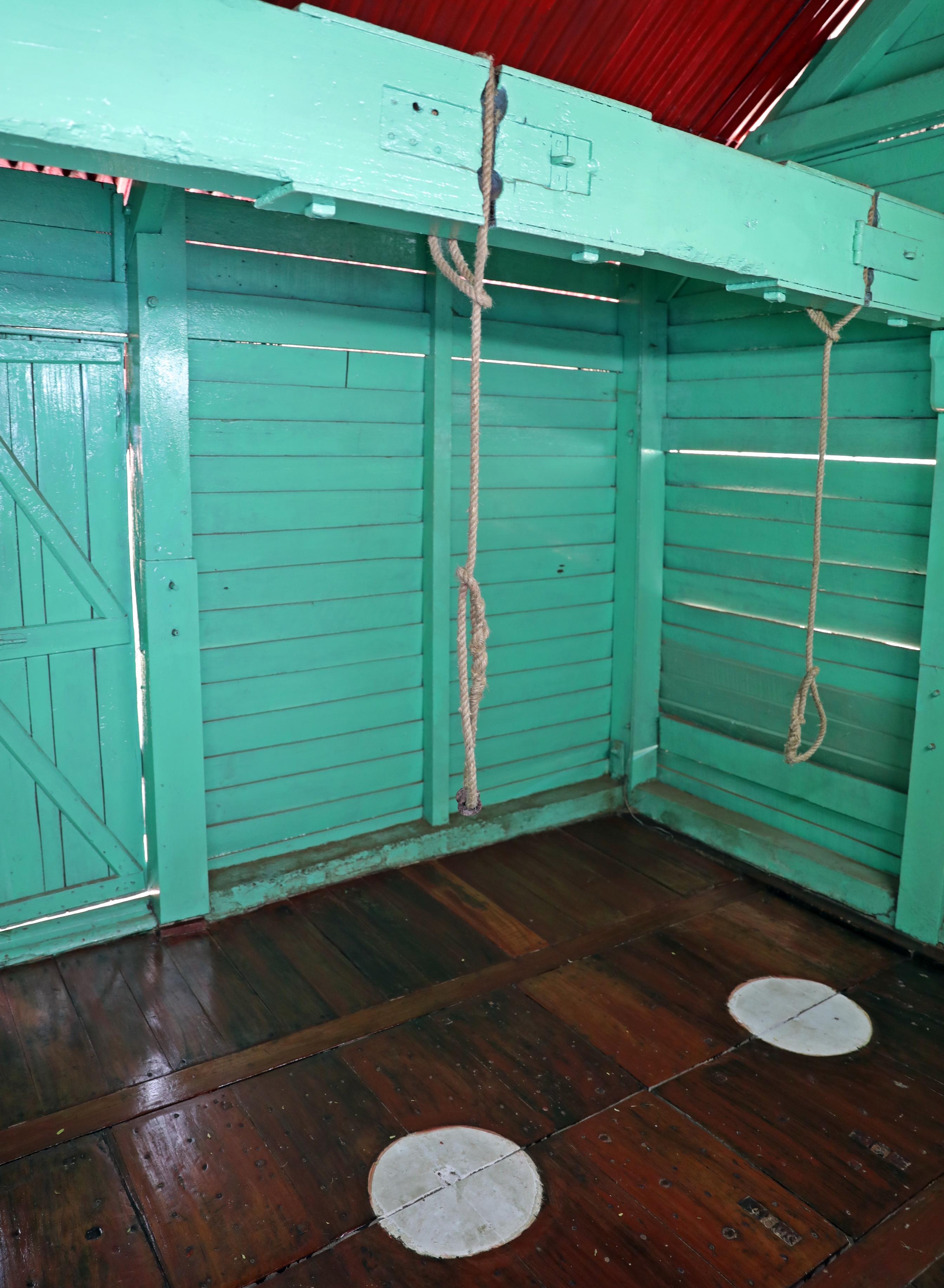 Gallows, Cellular Jail, Port Blair, Andaman Islands