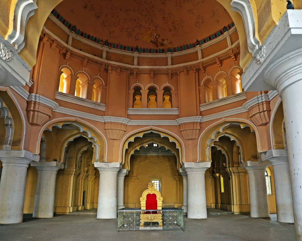 King's Throne, Tirumalai Nayak Palace, Madurai