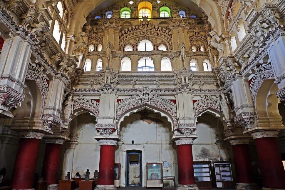 Dancing Hall, Tirumalai Nayak Palace, Madurai