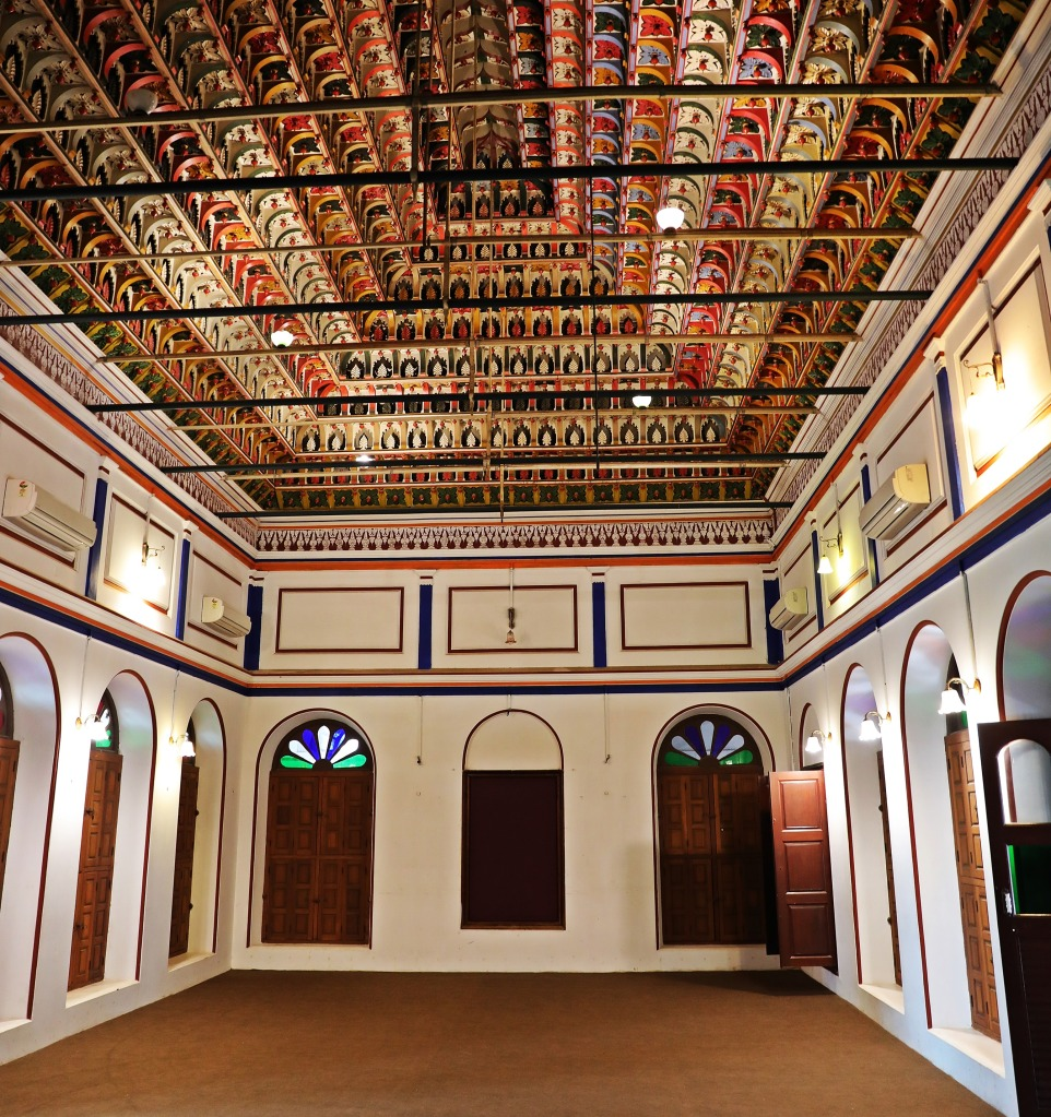 Grand room in Chidambara Vilas ,Chettinadu