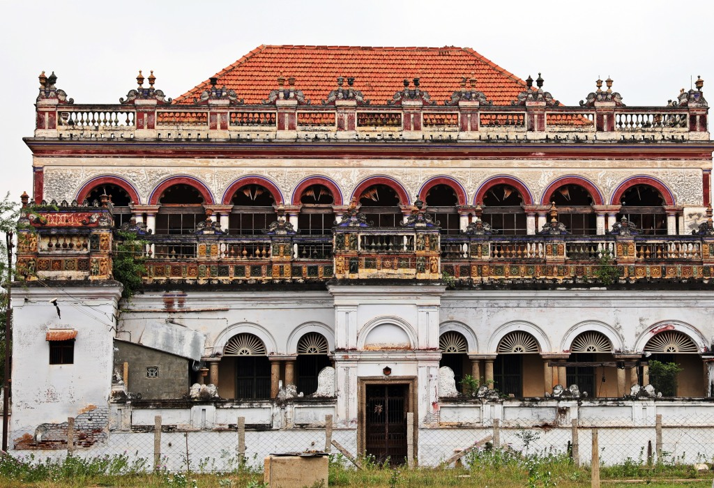 Mansion in Kadiapatti, Chettinadu