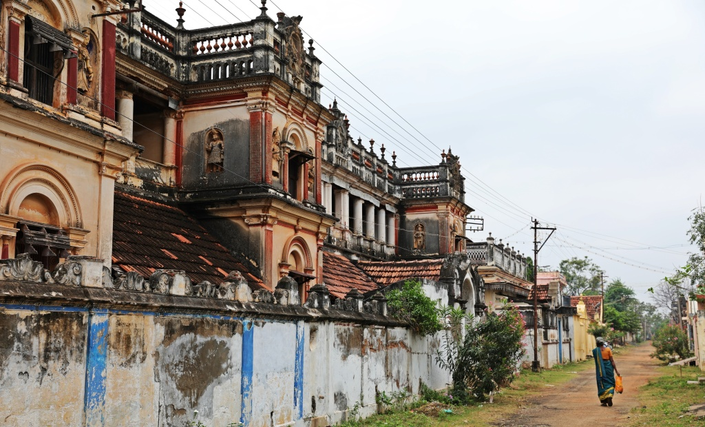 Mansions in Kadiapatti, Chettinadu