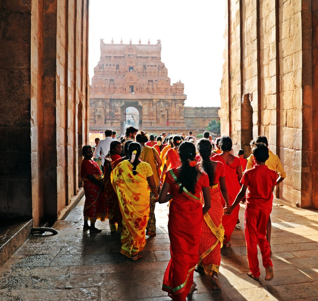 Entrance to Brihadishwara Temple, Thanjavur