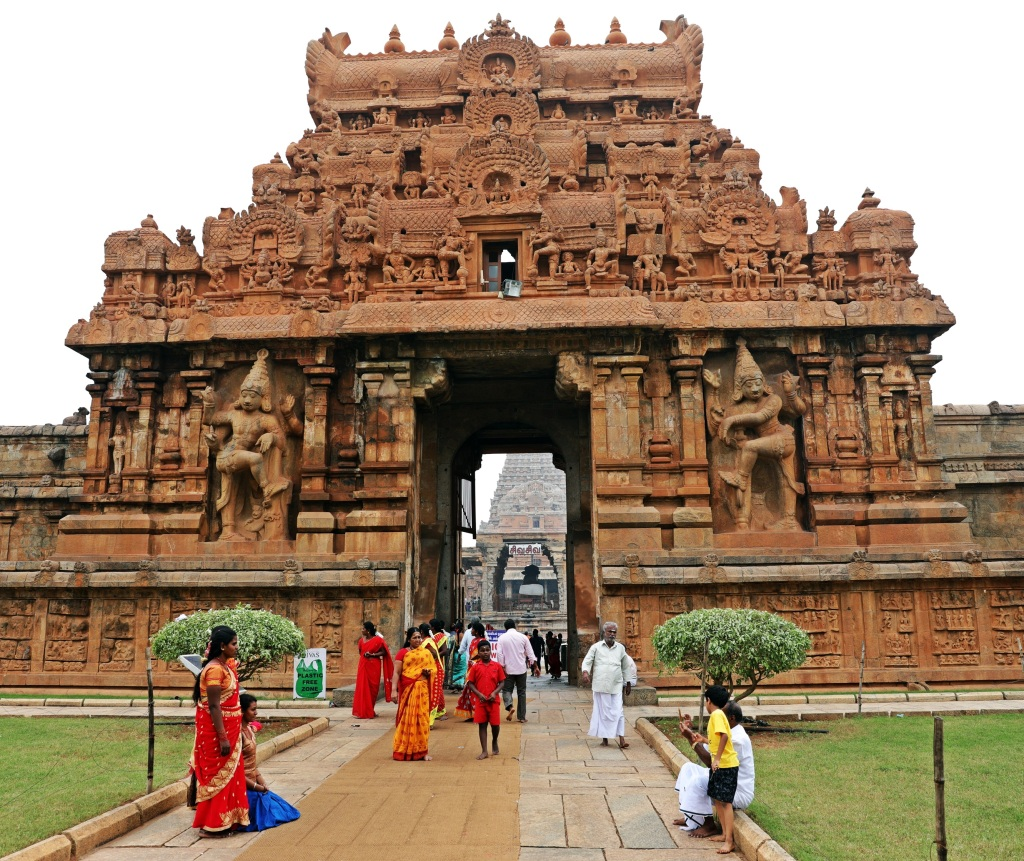 Gopuram, Brihadishwara Temple Complex