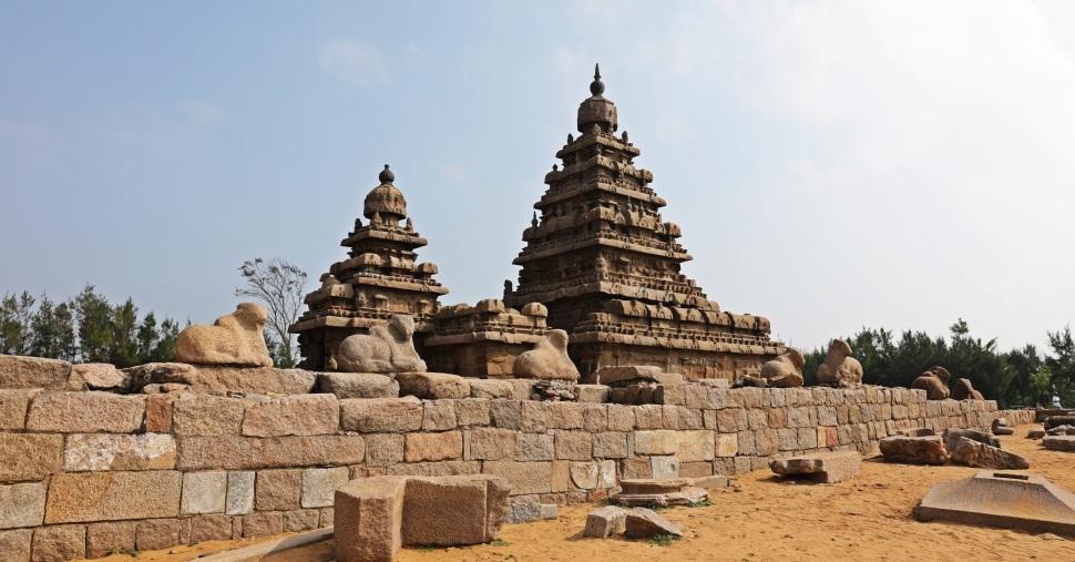 Seashore Temple, Mamallapuram