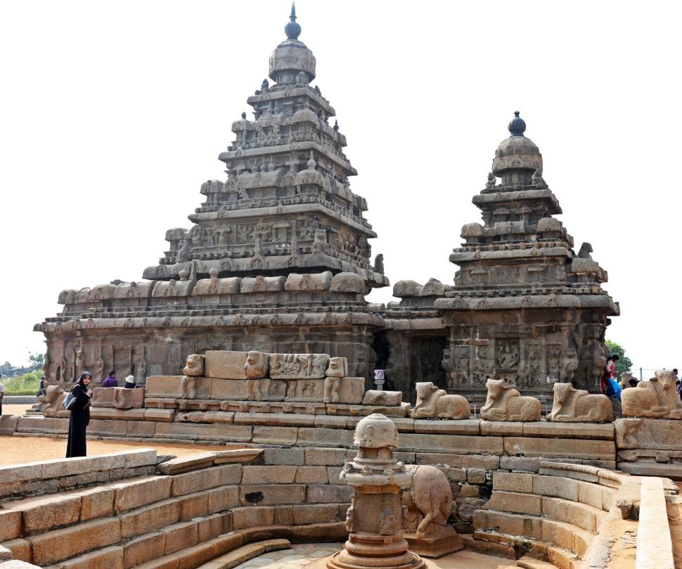 Shiva Lingam, Seashore Temple, Mamallapuram