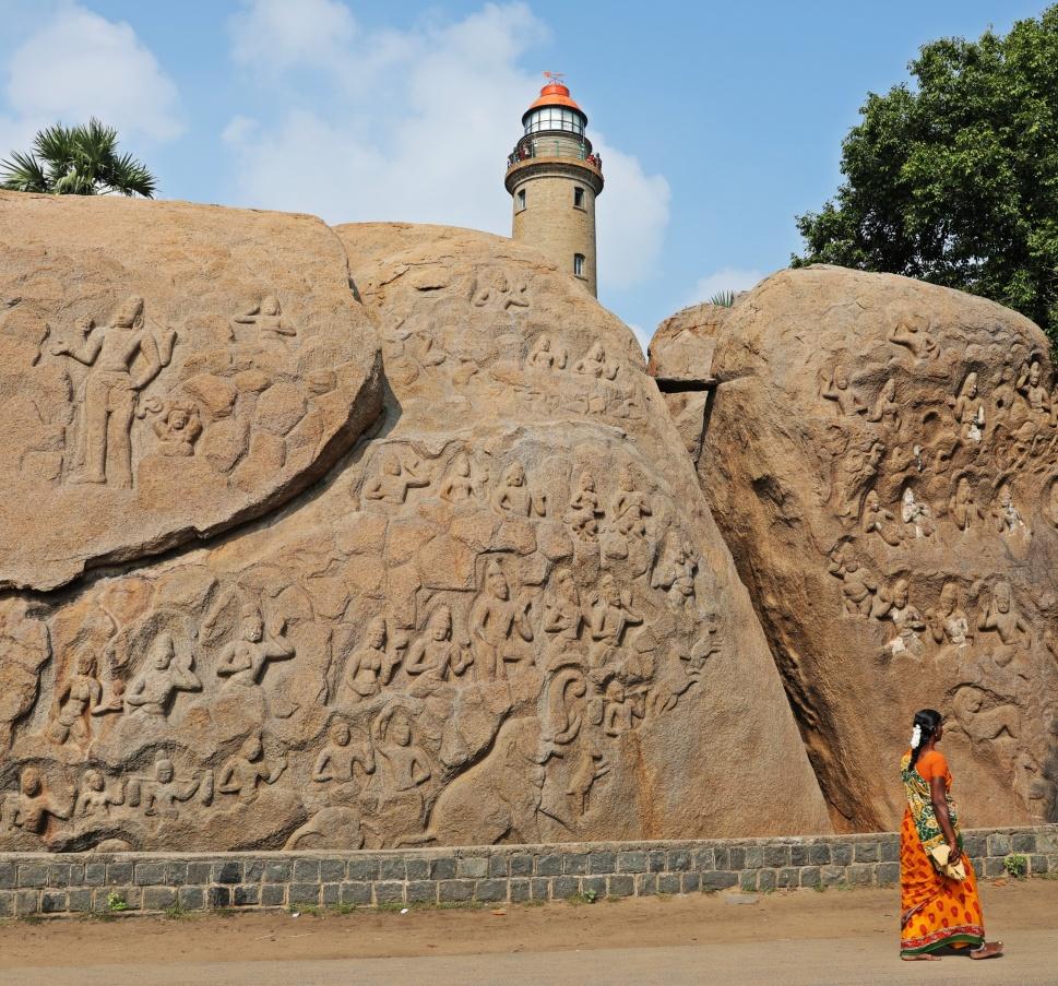 Carvings, Mamallapuram