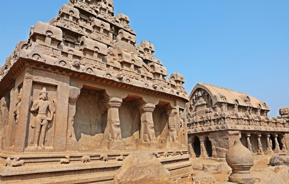Pancha Rathas, Mamallapuram