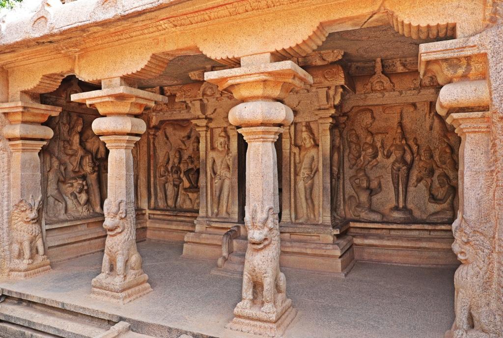 Cave Temple, Mamallapuram