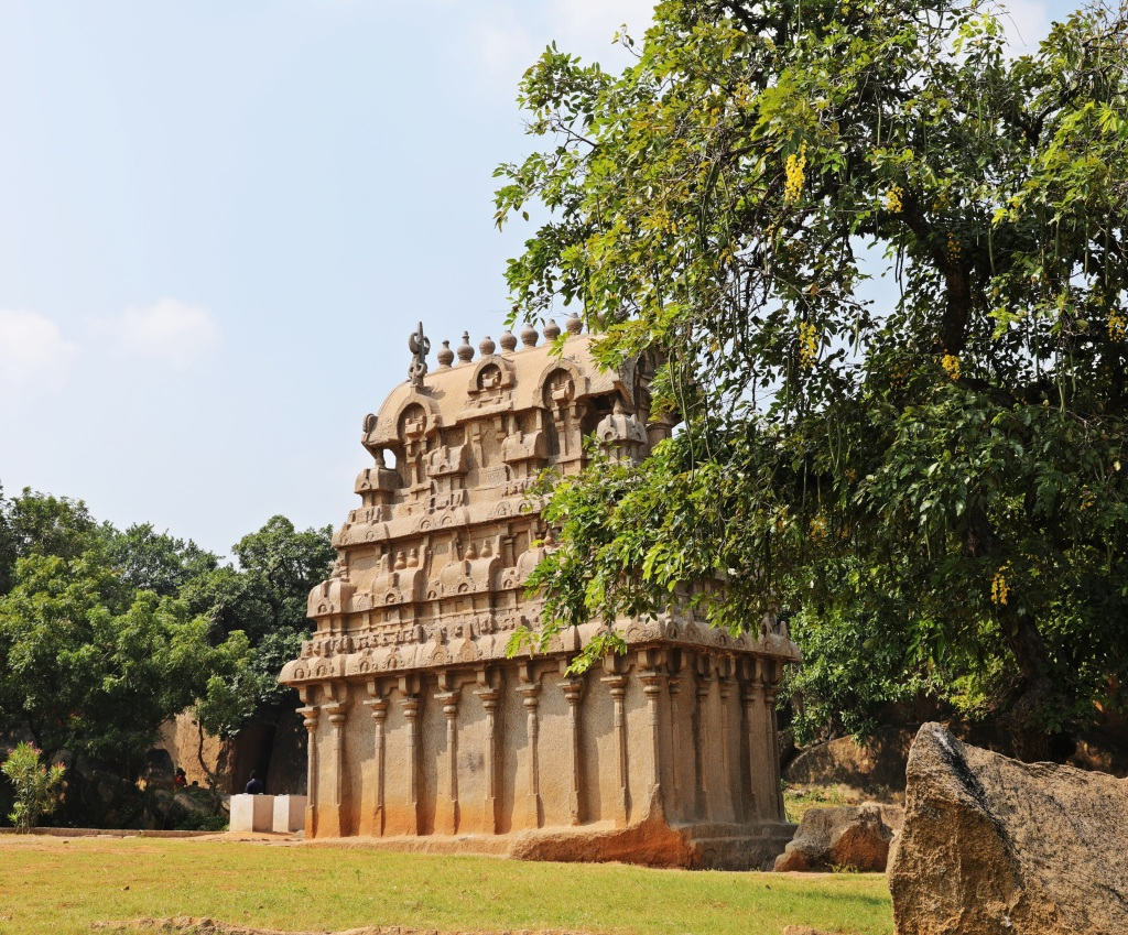 Ganesh Shrine, Mamallapuram