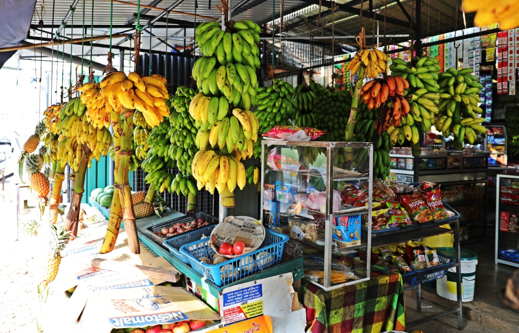 Banana shop, Bentota