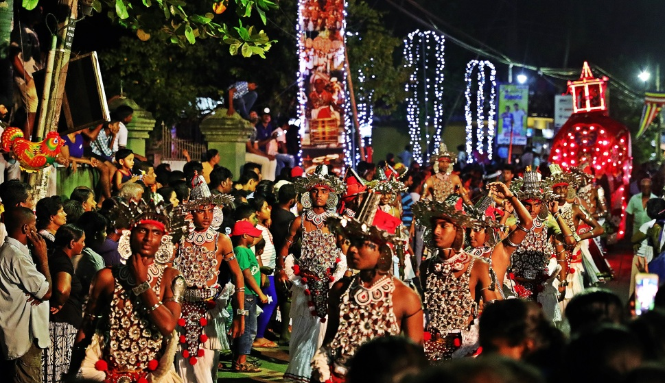 Perahera Parade, Bentota