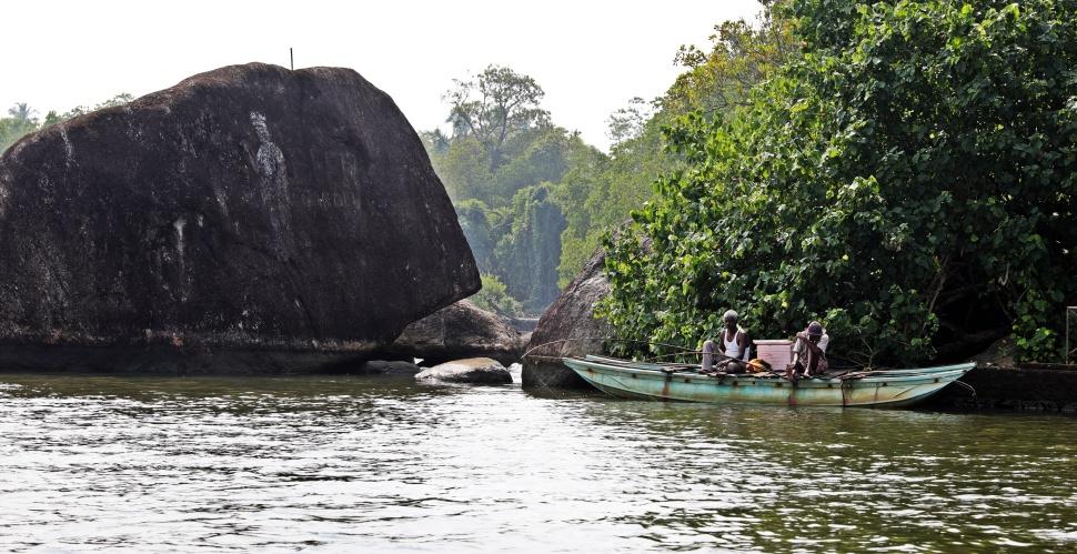 Fishermen, Bentota River