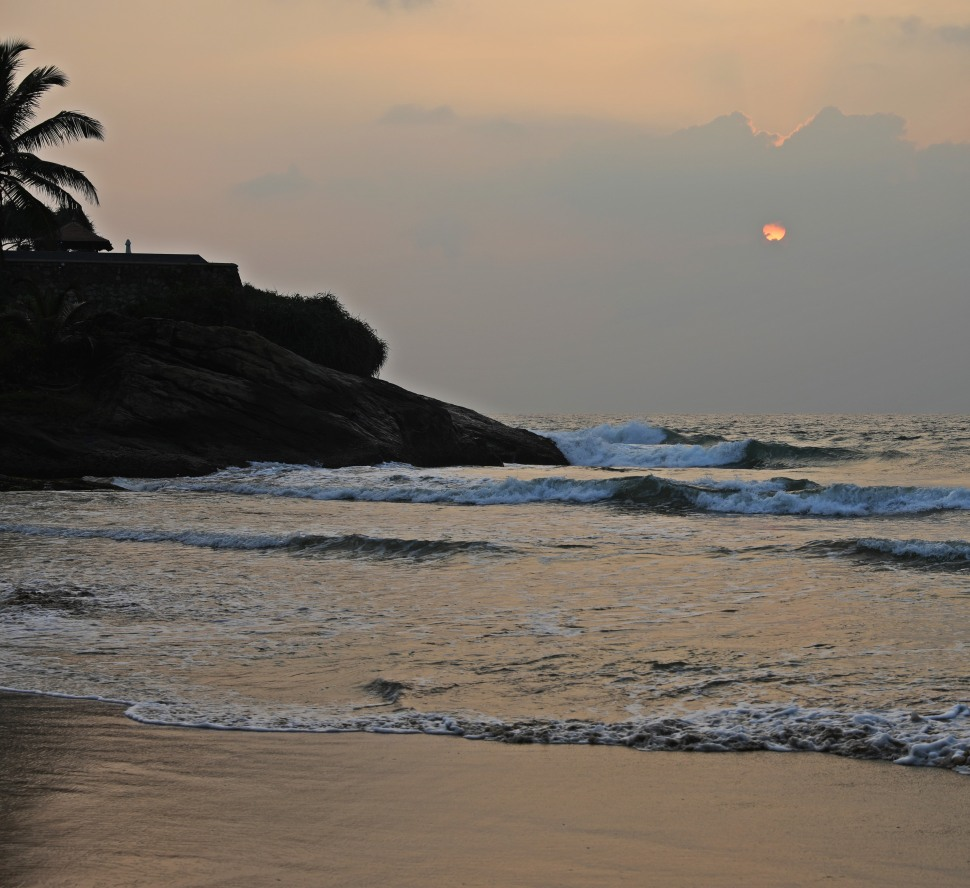 Sunset, Bentota Beach, Sri Lanka