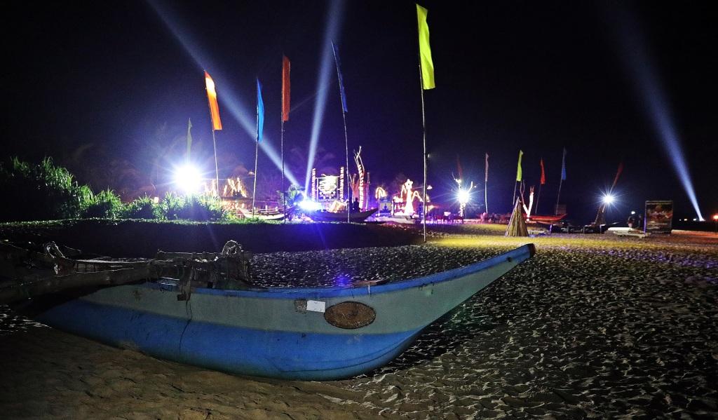 New Year's Eve, Bentota Beach