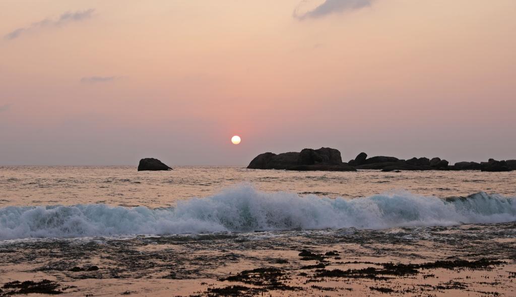 Sunset, Hikkaduwa