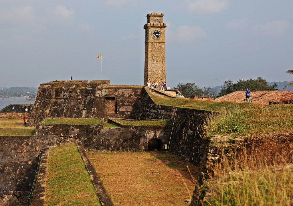 Clock Tower above Main Gate, Galle