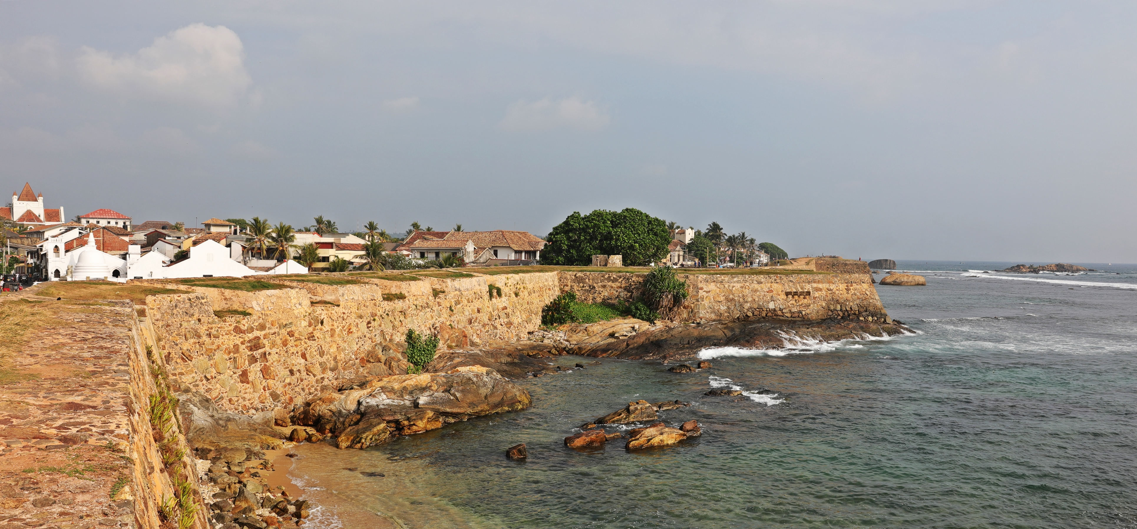 Fort wall, Galle