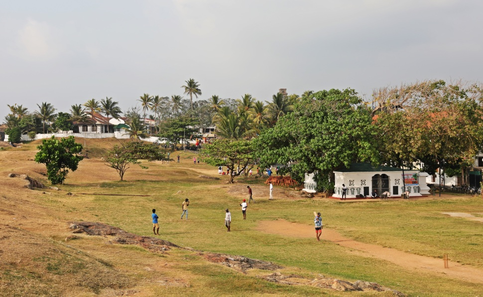 Local cricket game, Galle