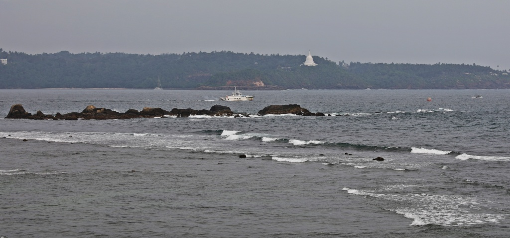 View from fort wall, Galle