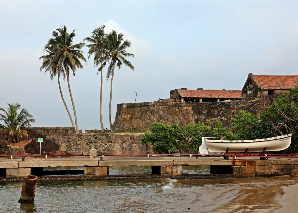Black Fort, Fort Galle
