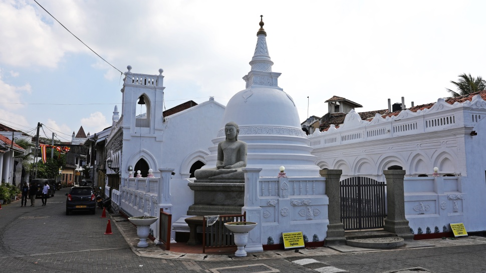 Fort Shri Sudarmalaya Buddhist Temple, Galle