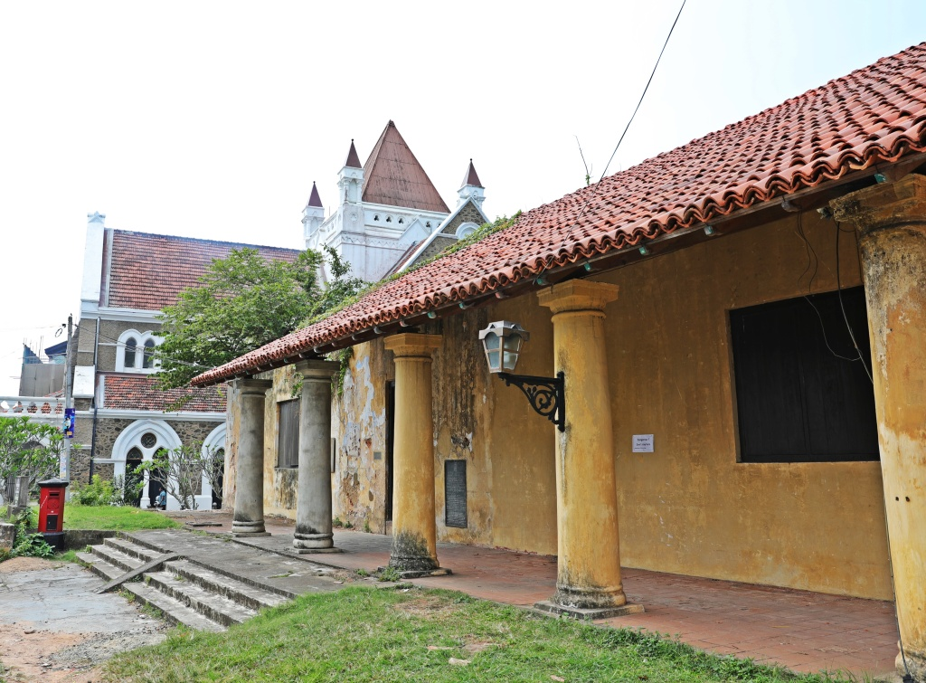 Colonial buildings, Galle