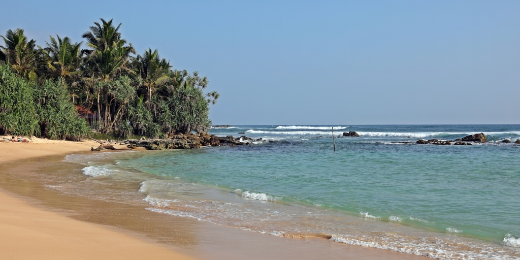 Beach near Midigama, Sri Lanka