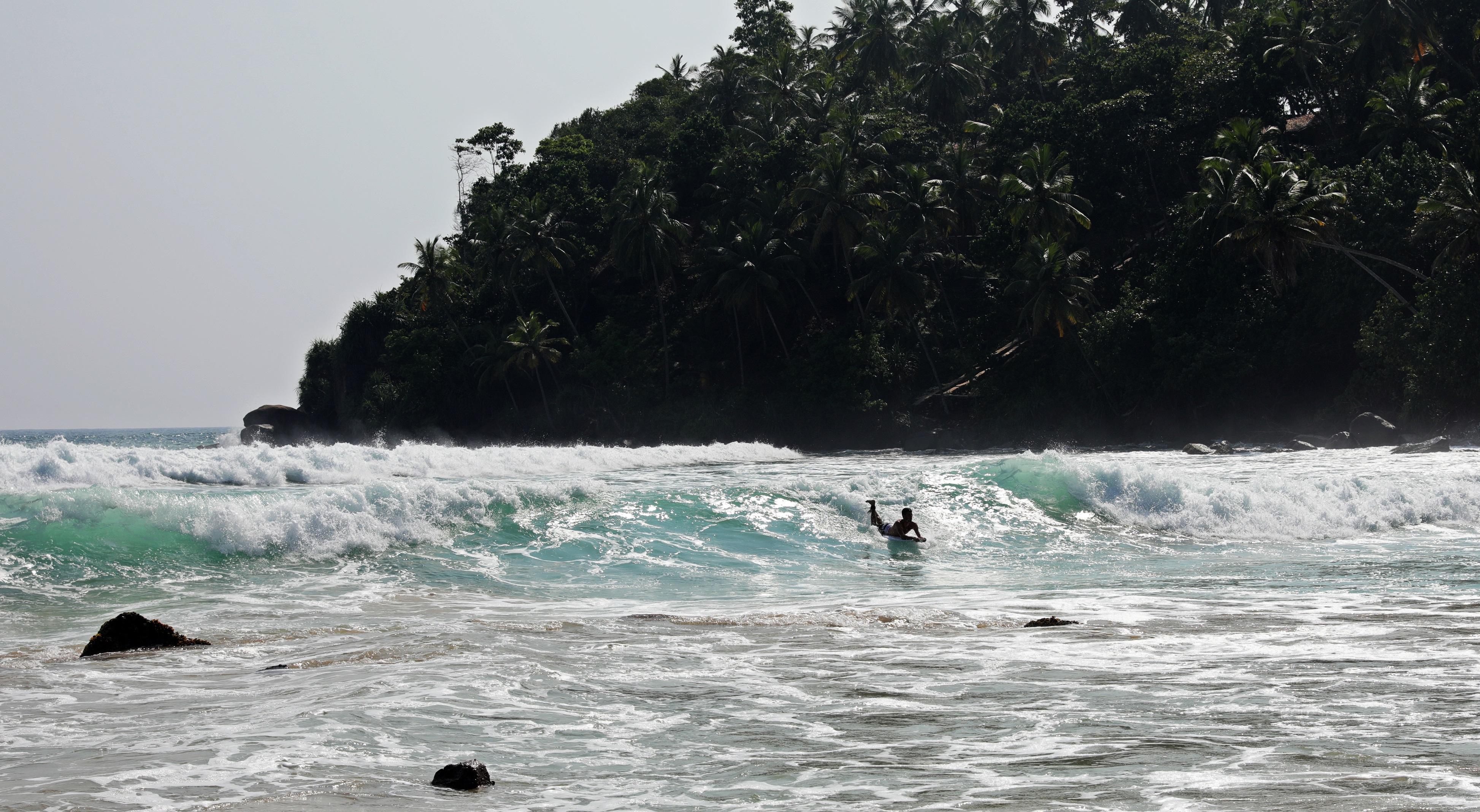 Surfing, Mirissa, Sri Lanka