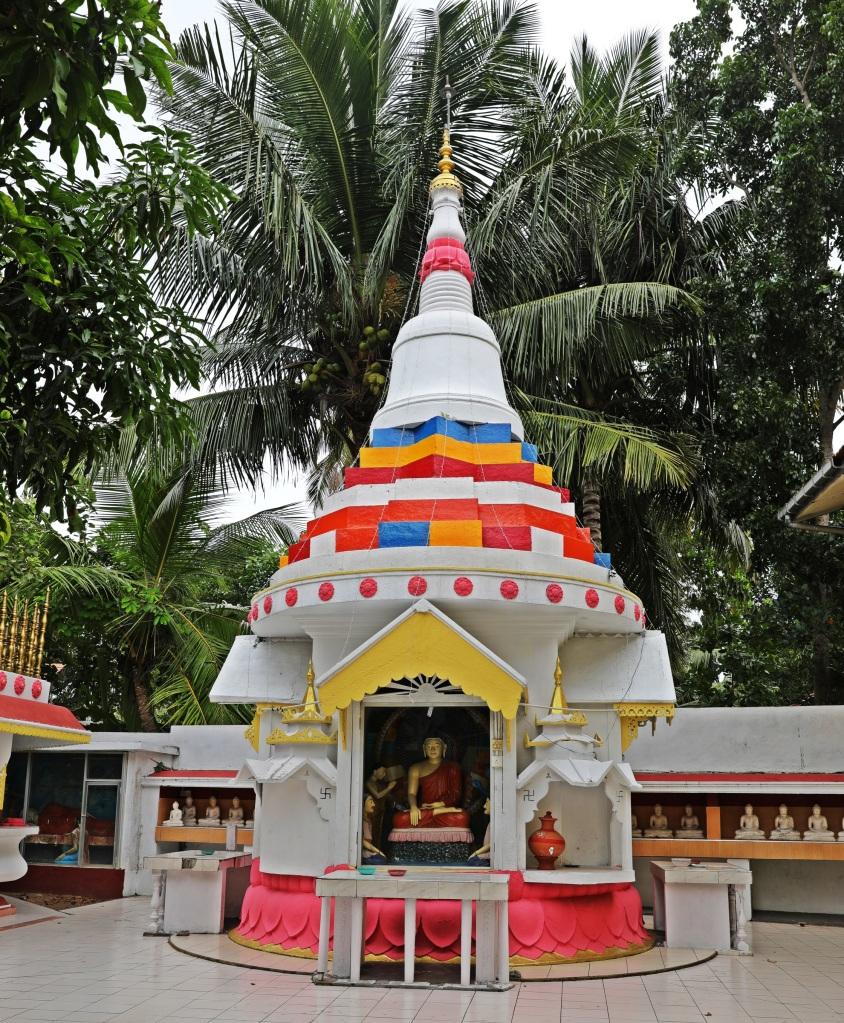 Buddhist monastery, Tangalle, Sri Lanka
