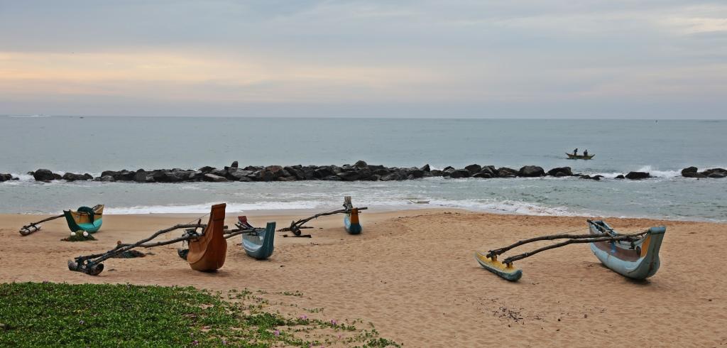 Fishing boats, Tangalle Beach, Sri Lanka